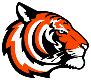 Tigers Logo Orange Clip Art