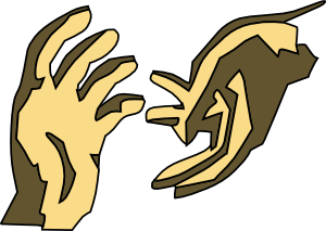 A Helping Hand Clip Art