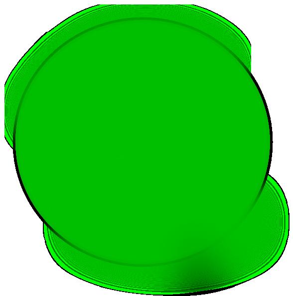 Circle green. Alex clip art at