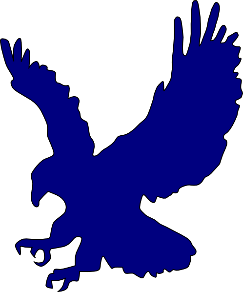 blue eagle clip art at clker com vector clip art online royalty rh clker com Auburn Tigers Tattoo Designs Auburn Tigers Tattoo Designs