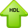 Hdl Cholesterol Up Arrow Clip Art