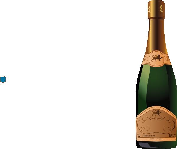 champagne plain bottle clip art at clker com vector clip art rh clker com champagne bottle clipart champagne bottle opening clipart