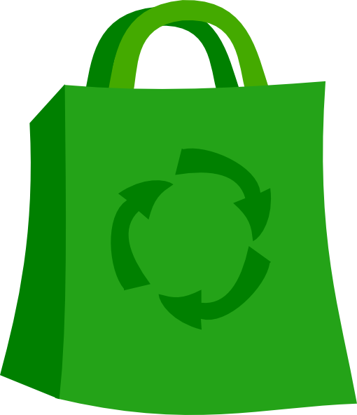 Green Shopping Bag Clip Art at Clker.com - vector clip art online ...