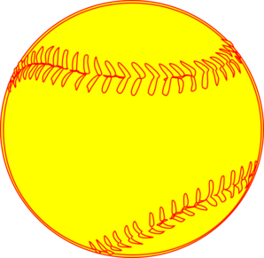 Image result for softball clipart transparent background