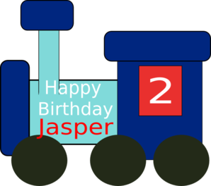 Jasper Birthday 2 Clip Art