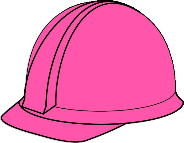 Pink Hard Hat Clip Art at Clker.com - vector clip art ...