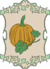 Garden Sign Pumpkin Clip Art