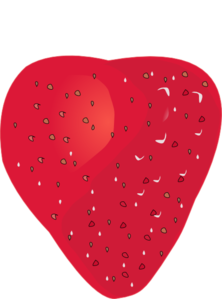 Strawberry Without Stem Clip Art