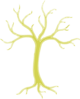 Gold Dead Tree Clip Art