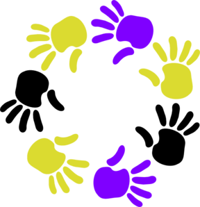 Circle Of Hands Clip Art
