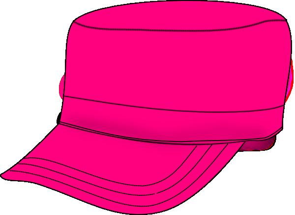 Pink Army Hat Clip Art at Clker.com - vector clip art ...