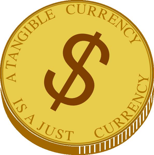 gold coin clip art at clkercom vector clip art online