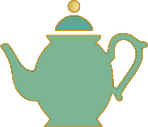 tea pot green clip art at clker com vector clip art online rh clker com teapot clip art free teapot clipart png