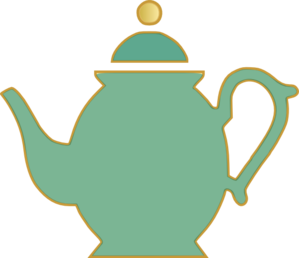 Tea Pot Green Clip Art