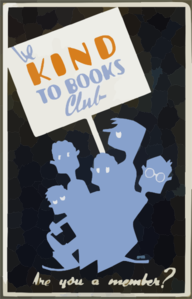 Be Kind To Books Club Are You A Member? / Gregg. Clip Art
