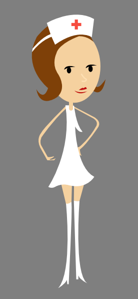 Cartoon Nurse clip art