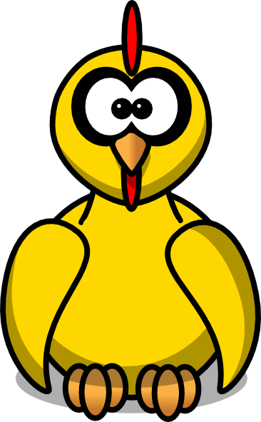 cartoon chicken clip art free - photo #8