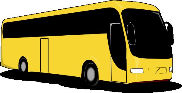 Yellow Bus Clip Art At Clker Com Vector Clip Art Online