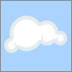 Cloud Blue Background Clip Art