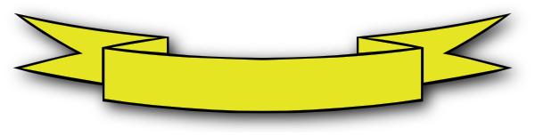 Yellow Banner Clip Art at Clker.com - vector clip art online ...