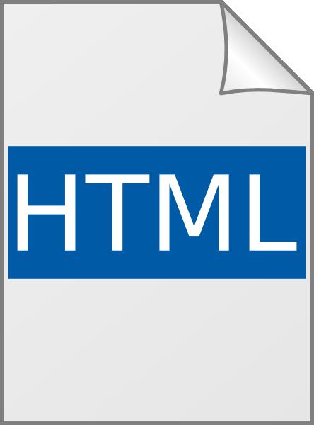Html Icon Clip Art at Clker.com   vector clip art online ...