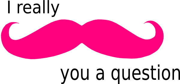 Mustache You A Question clip artPink Mustache Cover Photo
