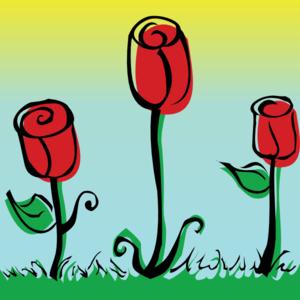 roses clip art at clker     vector clip art online