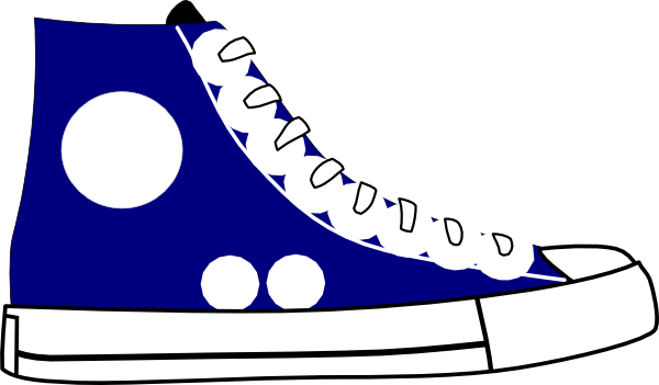 cartoon tennis shoe clipart rh worldartsme com old shoes clipart mens shoes clipart
