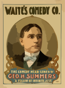 Waite S Comedy Co. Clip Art