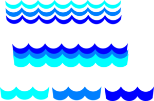 Wave Pattern Many Options Clip Art