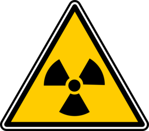 Warning - Nuclear Zone Clip Art