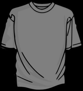 t shirt gray clip art at clker com vector clip art online royalty rh clker com clipart short hair clipart shirt