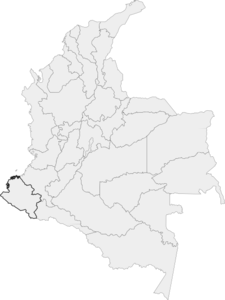 Colombian Map Clip Art