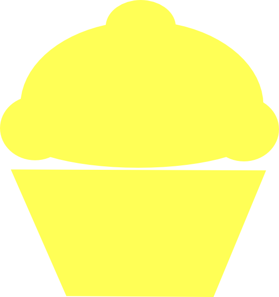 Yellow Cake Clip Art : Yellow Cupcake Cake Ideas and Designs