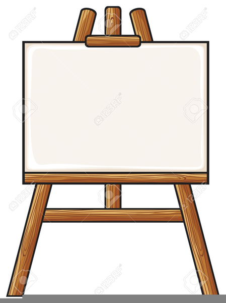 artist easel clipart free free images at clker com vector clip rh clker com  art easel clipart black and white