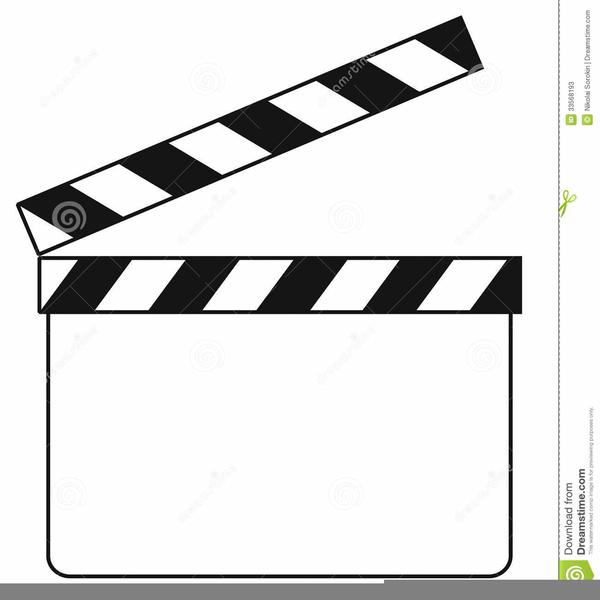 movie clapboard clipart free images at clker com vector clip art rh clker com film clapboard clipart director's clapboard clipart
