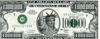 One Million Dollar Bill Clipart Image