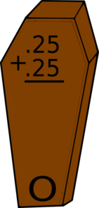 Math Coffin Clip Art