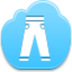 Free Blue Cloud Trousers Image