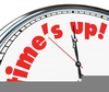 Clock Time Clipart Image