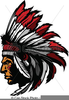 Indian Chief Mascot Clipart Image