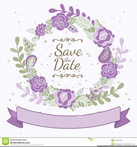 Wedding Template Clipart Image