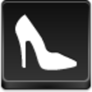 Free Black Button Shoe Image