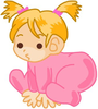 Free New Born Baby Clipart Image