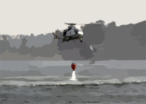 Two Uh-3h Sea King Helicopters Assigned To The Golden Gaters Of Helicopter Combat Support Squadron Eighty Five (hc-85) Dip Their Bambi Bucket Into A Lake To Aid In The Firefighting Effort. Clip Art