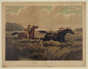 White American Shooting Native Indian Image