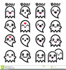 Happy Halloween Ghost Clipart Image