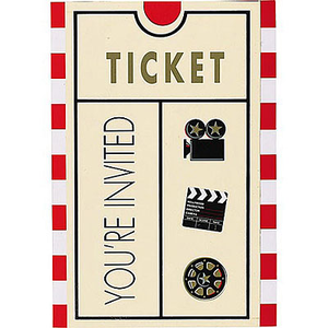 Movie Ticket Image