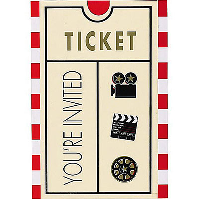 Movie Ticket | Free Images at Clker.com - vector clip art online ...