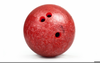 Red Bowling Ball Image